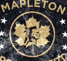 Property of Mapleton Police Dept. - The Leftovers Sticker