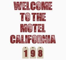 Motel California Kids Clothes