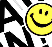 Rave On Sticker