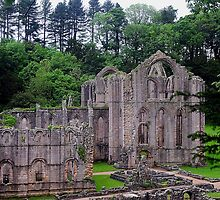 Fountains Abbey by Photography  by Mathilde