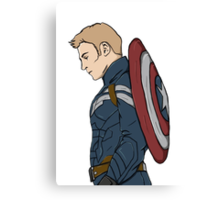 Captain America - Steve Rogers - Marvel Canvas Print