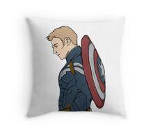 Captain America - Steve Rogers - Marvel Throw Pillow