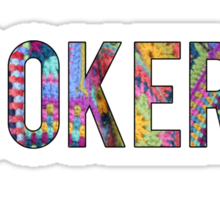 (Crochet) Hooker Sticker