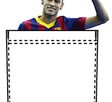 Neymar Pocket by aketton