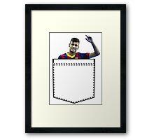 Neymar Pocket Framed Print