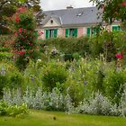 Monet's House and Garden, Giverny, France by Elaine Teague