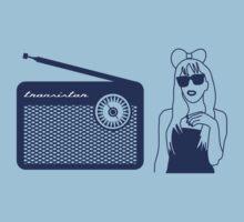 Radio Gaga - Lady Gaga & Queen Freddie Mercury Parody T-Shirt