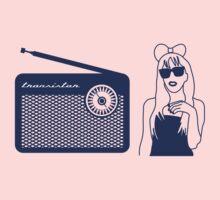 Radio Gaga - Lady Gaga & Queen Freddie Mercury Parody Kids Clothes