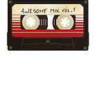 Guardians of the Galaxy - Awesome Mix by tshirtgk  .com