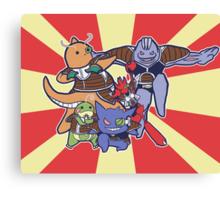 Pokemon Ginyu Force! Canvas Print