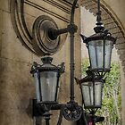 French Wall Lamps by Elaine Teague