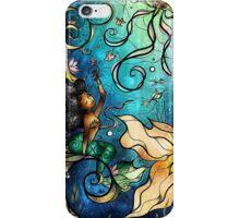 Under the Sea - Paige (Left Mermaid) iPhone Case/Skin