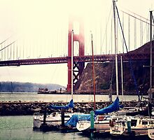 Golden Gate Bridge by krissihart