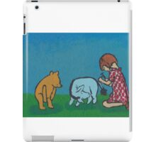 Eeyore loses a tail iPad Case/Skin