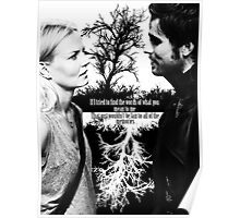 Captain Swan Black and White Poster