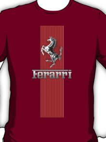 Ferrari Lover #3 [Silver - Red] T-Shirt