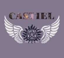 Castiel gripped you tight by IchigoChocolate