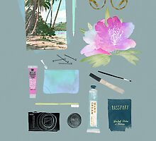 GOING TO HAWAII by Babeth Lafon