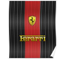 Ferrari Lover #3 [Gold - Red] #2 Poster