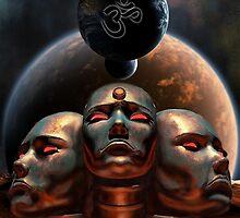 Three Faces of Creation by Iszyiszard