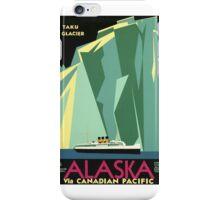 Alaska, Taku Glacier iPhone Case/Skin