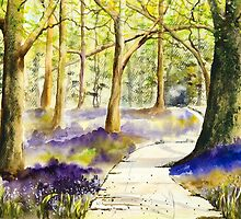 Bluebell Grove by closetpainter