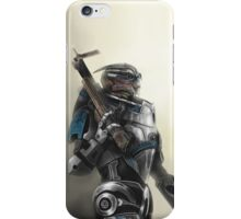 A busy Turian iPhone Case/Skin