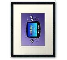 Game Boy Advance Framed Print