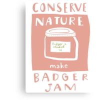 Badger Jam Canvas Print