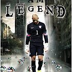 Tim Howard I Am Legend by mijumi