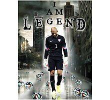 Tim Howard I Am Legend Photographic Print