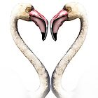 Flamingo Love by Mugsy