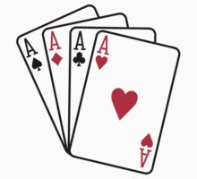 Poker aces gambling by Designzz