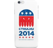 Vintage CTHULHU 2014 iPhone Case/Skin