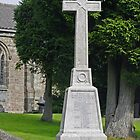 War Memorial in St Mary's Churchyard, Crich by Rod Johnson