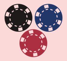 Poker chips gambling Kids Clothes