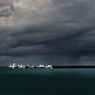 Storm over St-Vaast by cclaude
