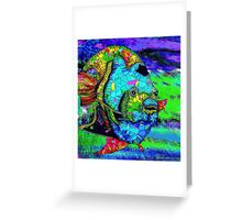 Angel Fish Swimming in the Sea Greeting Card