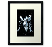 Xerath Ink Black Framed Print