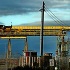 Bright Yellow Conveyor by Bob Wall