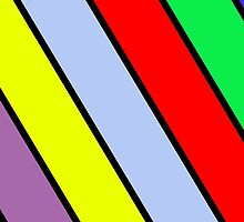 Vibrant Stripes by Andrew Alcock
