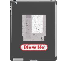 Blow Me - Vintage Nintendo Cartridge iPad Case/Skin