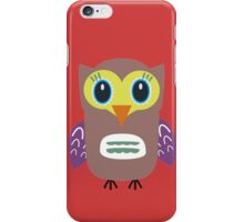 Coloured Owl  iPhone Case/Skin
