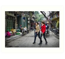 Vietnam: Striding Out Art Print