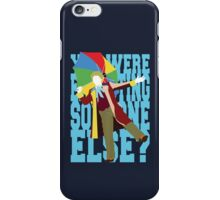 Quotable Who - Sixth Doctor iPhone Case/Skin