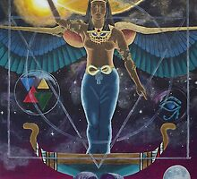 Isis - Egyptian Goddess of Magic by NicPhillips