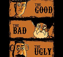 The Good The Bad the potato by piercek26