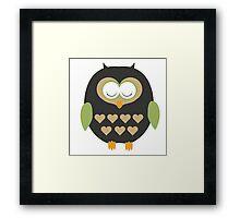 Sleeping owl  Framed Print
