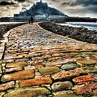 St. Michaels Mount and Causeway by Anthony Hedger Photography