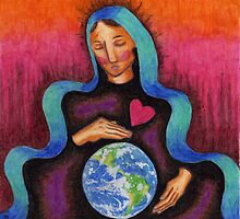 Earth Mother Mary by NicPhillips